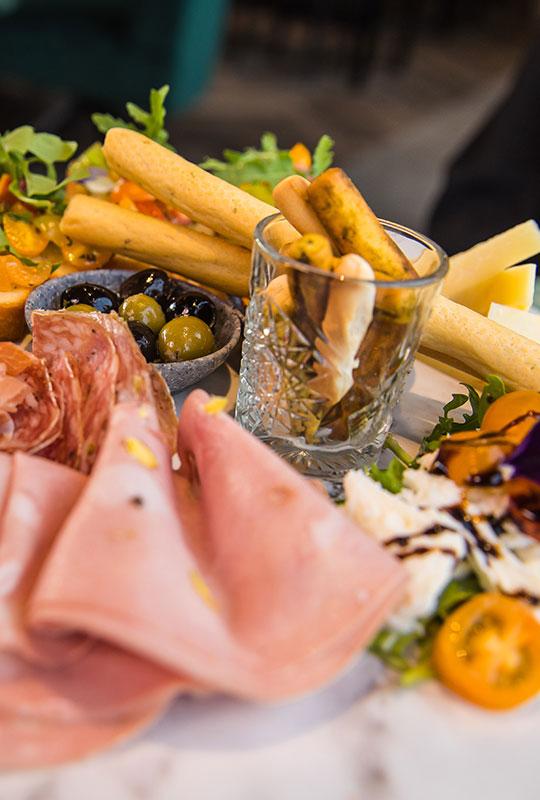 Menukaart, Arrosto, Italiaans Restaurant, Antipasti